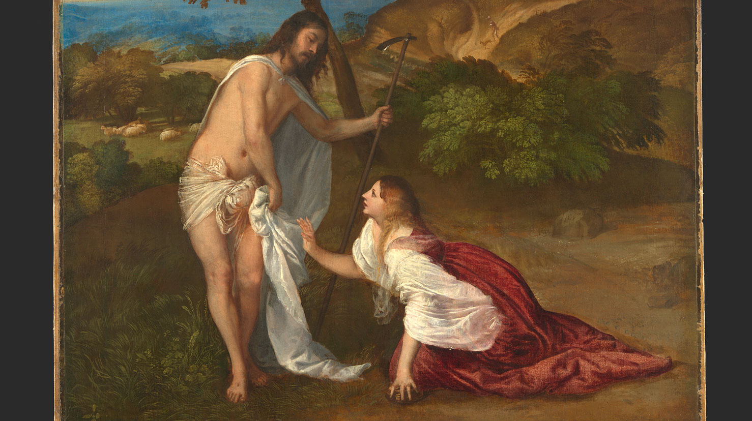 Titian. Noli me Tangere. © The National Gallery, London. Bequeathed by Samuel Rogers, 1856.