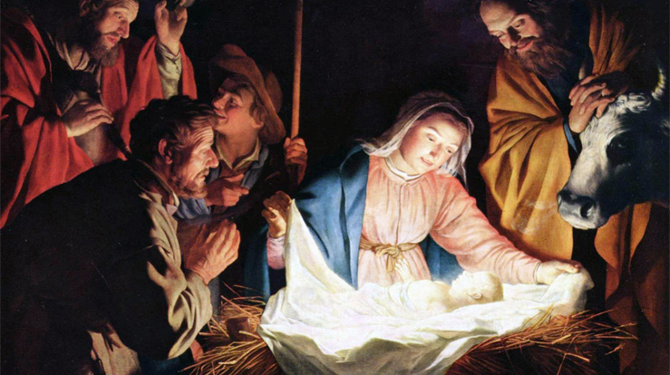 "Gerard van Honthorst (1592 –1656) ""The Adoration of the Shepherds"""