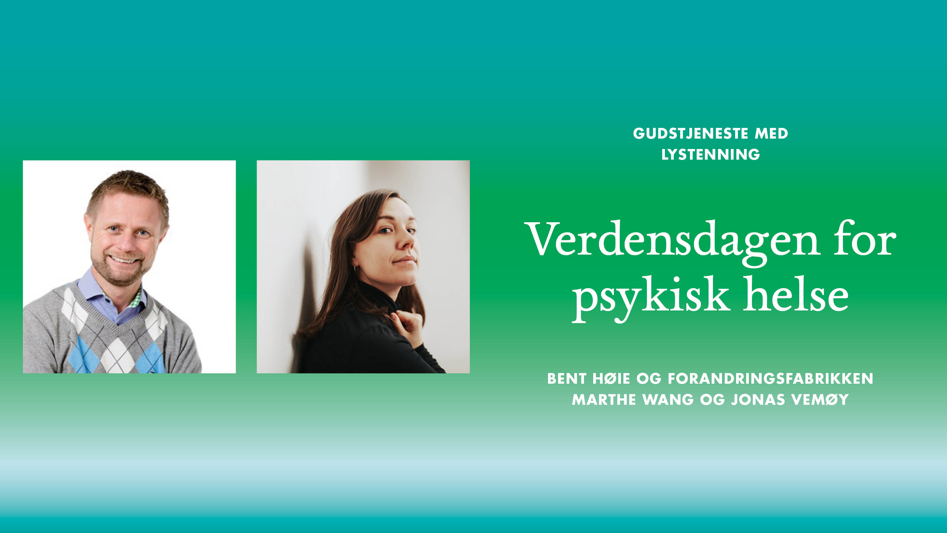Verdensdagen for psykisk helse 2019