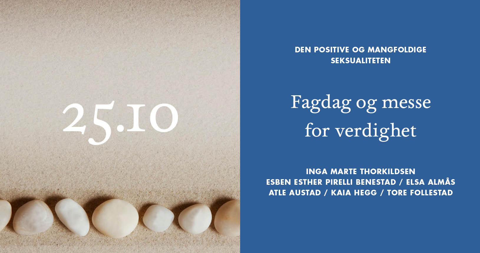 Fagdag og messe for verdighet