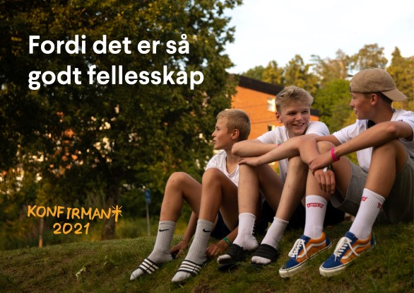 Påmelding konfirmant 2021