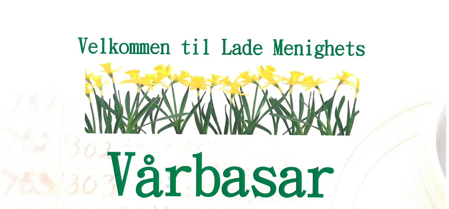 Vårbasar 6. april