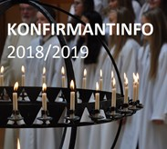 Konfirmantinformasjon 2018/2019