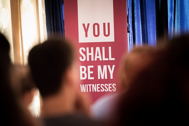 "Tema for årets generalforsamling i KEK er ""You shall be my witnesses"". (Foto: Albin Hillert/CEC)"