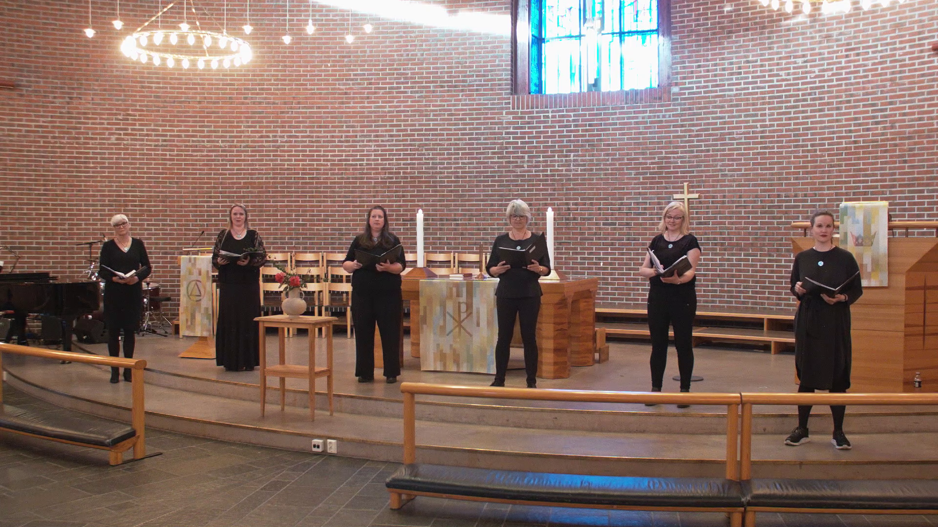 Cantus Sororum - Aftensang i Åsane Kirke (video)