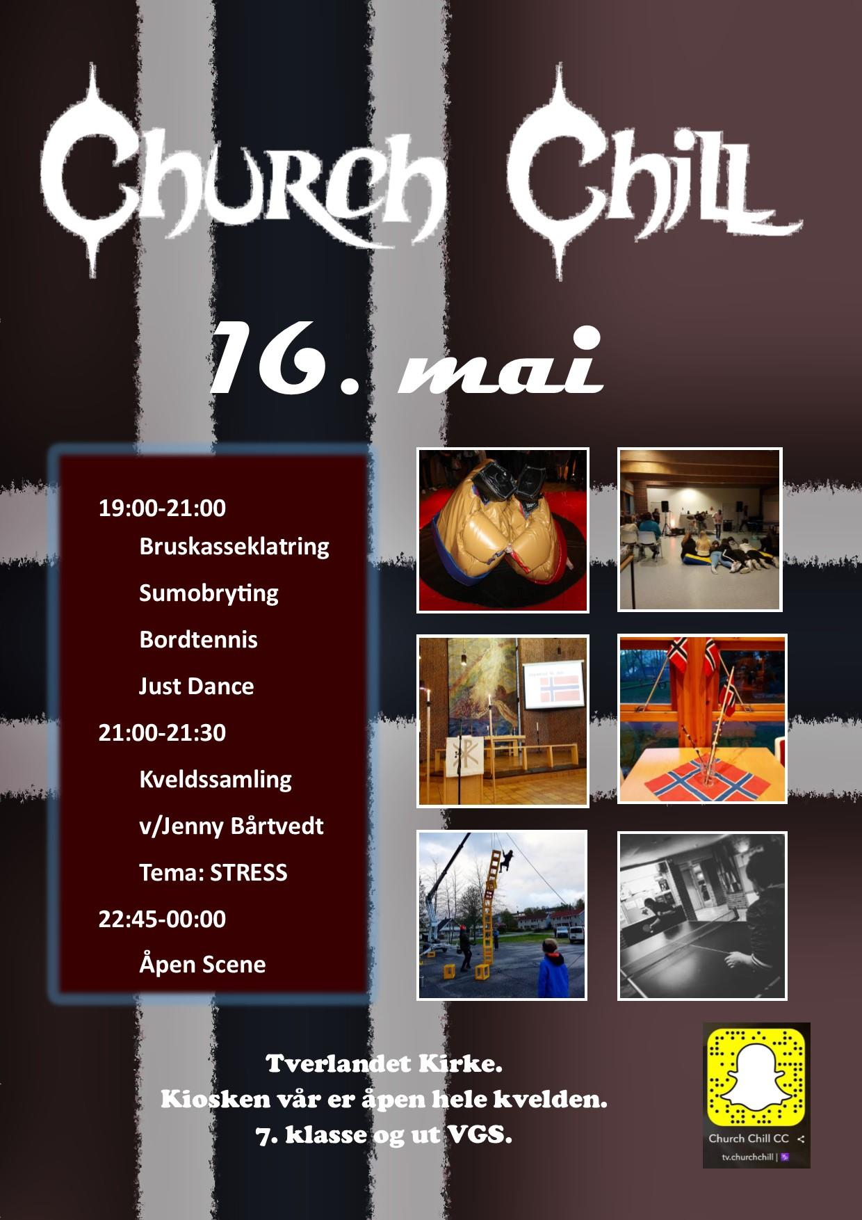 Church Chill 16.mai