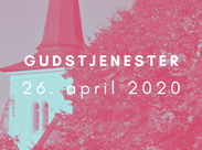 Gudstjenester 26. april